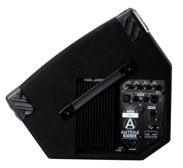 """Caixa de Som Antera M12.1A 12"""" Retorno - Ativa  - TranSom Áudio e Música"""