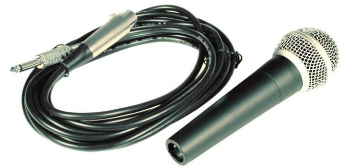 Microfone de Mão CSR HT 58A  - TranSom Áudio e Música