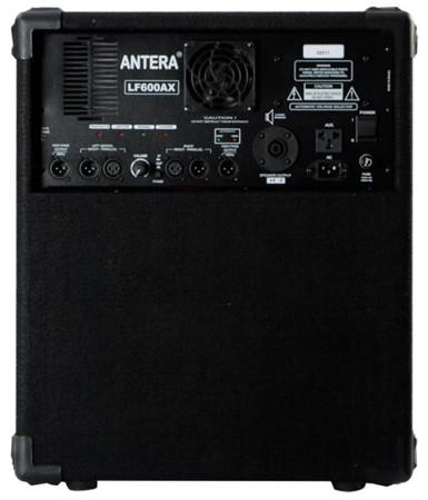 """Caixa de Som Antera LF600A 12"""" Preta 300W - Ativa  - TranSom Áudio e Música"""