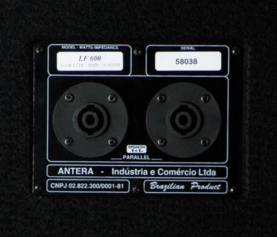 "Caixa Antera LF600 12"" - Passiva  - TranSom Áudio e Música"