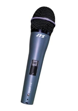 Microfone de Mão JTS TK 600 c/ Cabo  - TranSom Áudio e Música