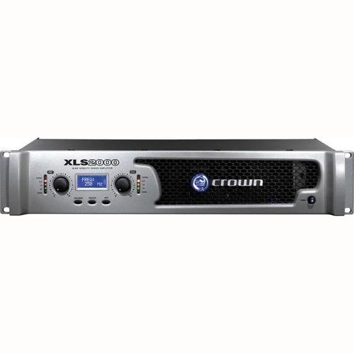 Amplificador de Potência Crown XLS 2000, 2100W, 120Volts  - TranSom Áudio e Música