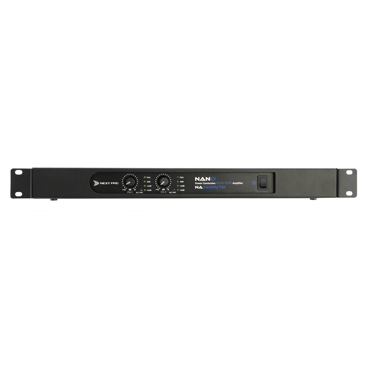 Amplificador Potência 1300W Next Pro NANO 2650  - TranSom Áudio e Música