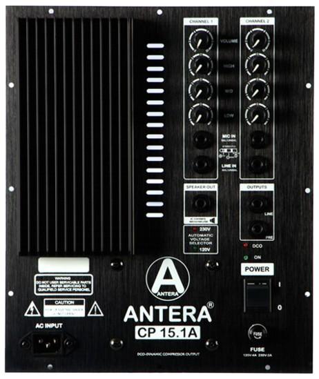 Caixa de Som Antera CP 15.1A - Ativa  - TranSom Áudio e Música