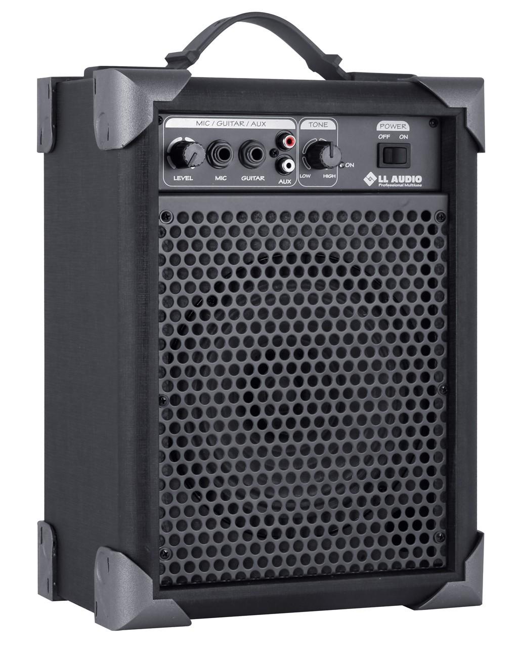 Caixa de Som Amplificada LL Lx 40 Multiuso Entrada Para Guitarra Violão Microfone  - TranSom Áudio e Música