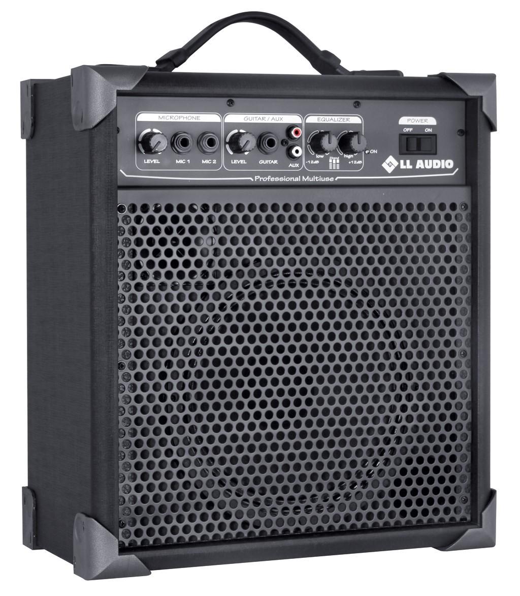 Caixa de Som Amplificada Multiuso Ll Audio Lx 60 Entrada Para Violão Guitarra Microfone  - TranSom Áudio e Música