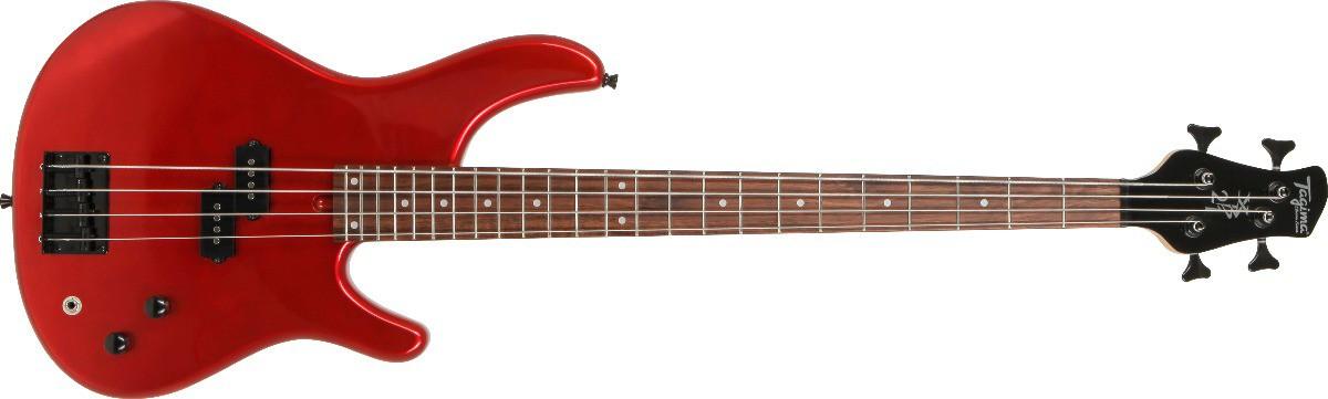 Contrabaixo Tagima XB21 NO Classic Series 4 Cordas - Vermelho  - TranSom Áudio e Música