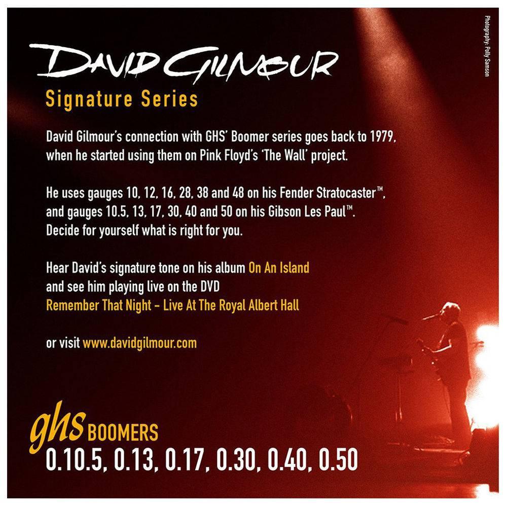 """Corda GHS 10.5 Signature Series """"David Gilmour""""  - TranSom Áudio e Música"""