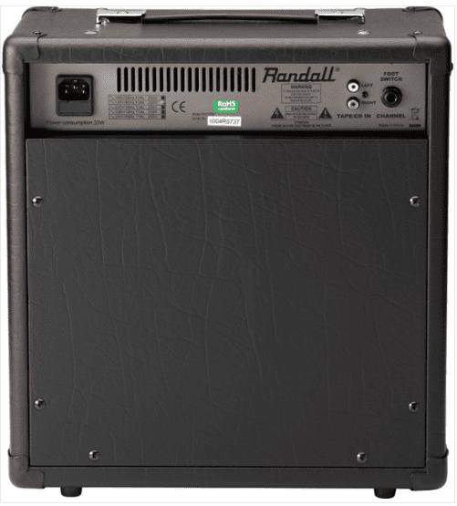 Cubo Guitarra Randall RX 25 RM  - TranSom Áudio e Música