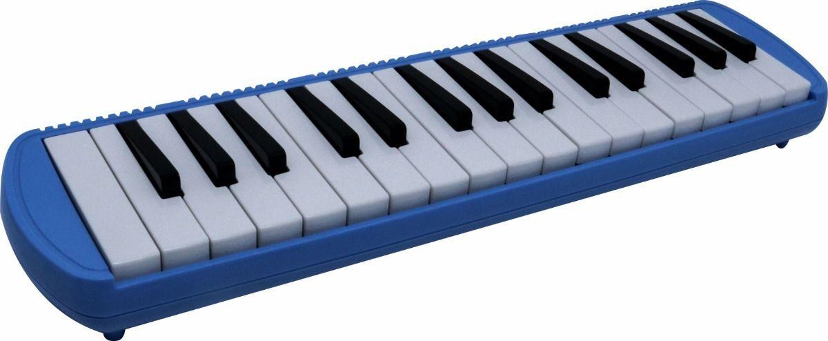Escaleta Piânica CSR #37 Teclas com Estojo Azul  - TranSom Áudio e Música