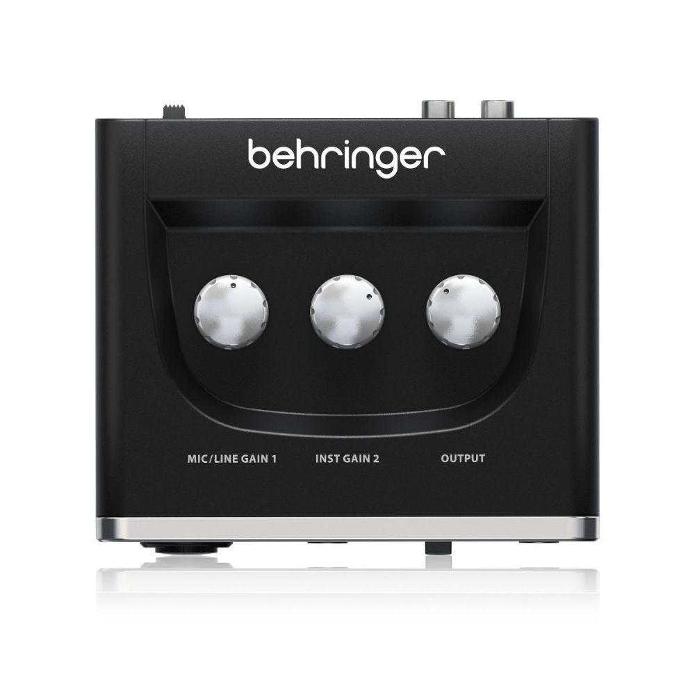 Interface Behringer U-Phoria UM-2  - TranSom Áudio e Música