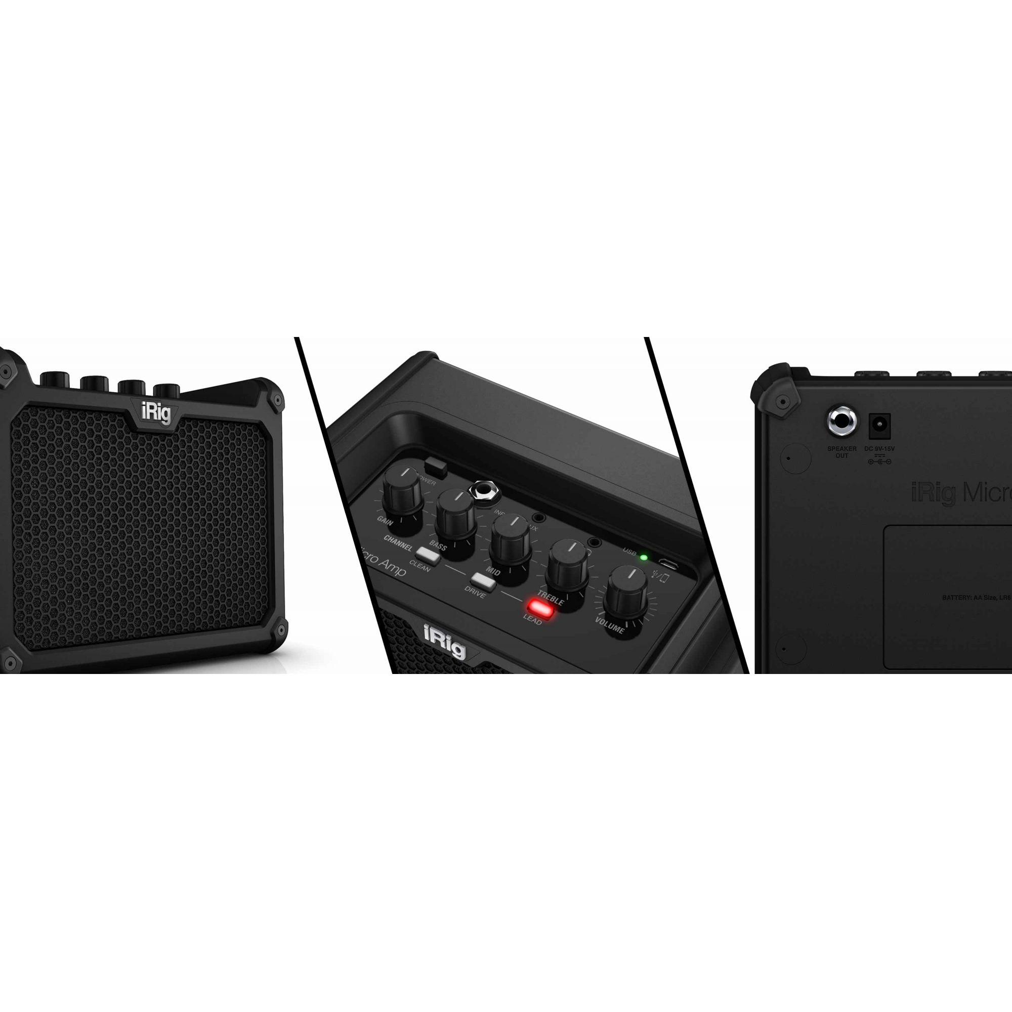 IRIG Micro AMP IK Multimedia 15W  - TranSom Áudio e Música