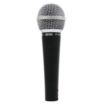 Kit de Microfones de Mão CSR HT58A-5 Dinâmico - Com 5 Microfones  - TranSom Áudio e Música
