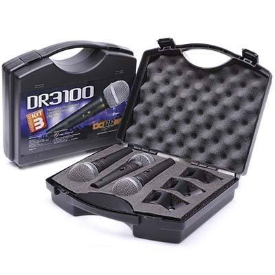 Kit de Microfones Donner DR 3100 c/ 3 Microfones  - TranSom Áudio e Música