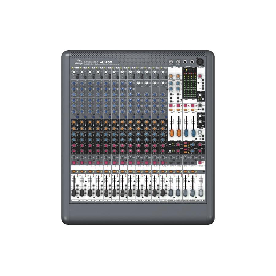 Mesa Behringer Xenyx XL1600  - TranSom Áudio e Música