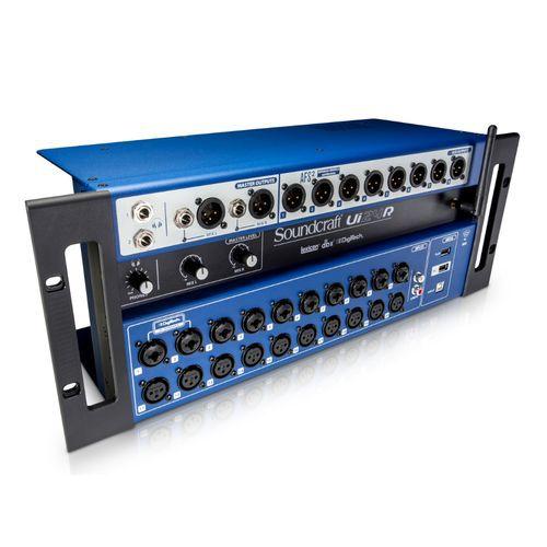 Mesa de Som Digital SoundCraft UI 24R  - TranSom Áudio e Música