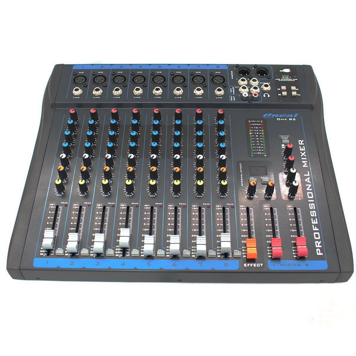 Mesa Oneal OMX-82 c/ USB  - TranSom Áudio e Música