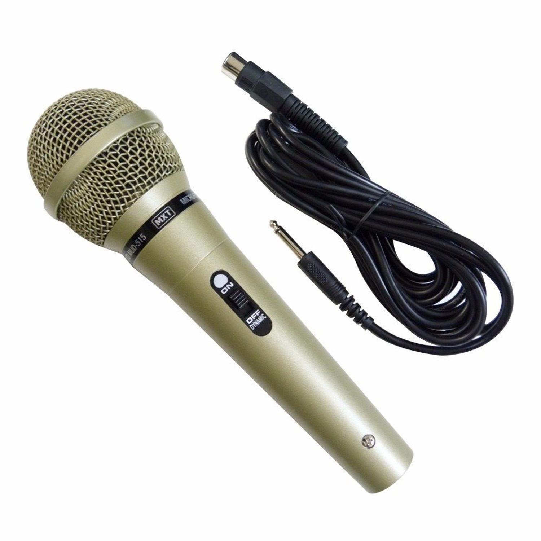 Microfone Profissional Dinâmico MXT M-515 Com Fio  - TranSom Áudio e Música
