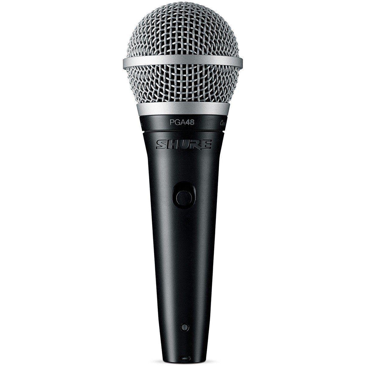 Microfone Shure PGA48 - LC  - TranSom Áudio e Música