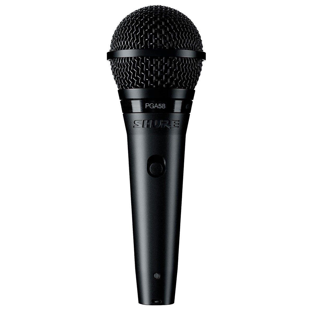 Microfone Shure PGA58 - LC  - TranSom Áudio e Música