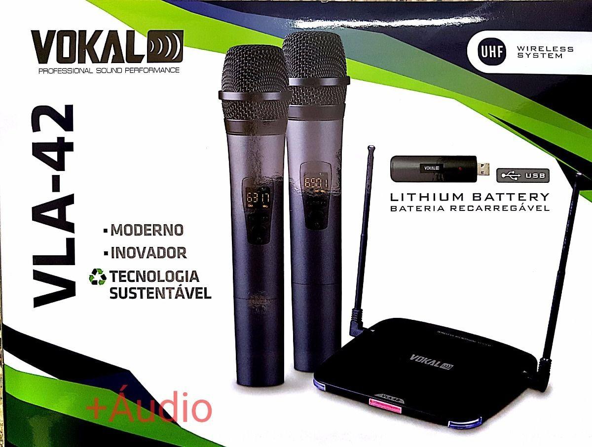 Microfone Vokal Lithium VLA 42  - TranSom Áudio e Música