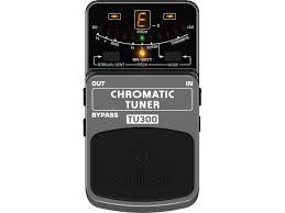 Pedal Afinador Behringer TU300 Chromatic Tuner  - TranSom Áudio e Música