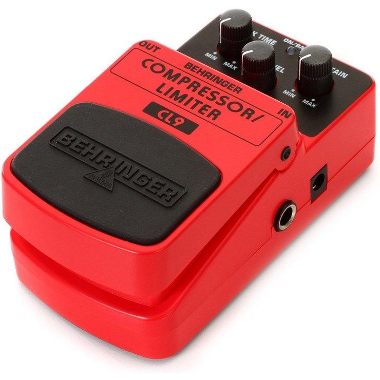 Pedal Behringer CL9 Compressor Limiter/Compressão e Limitação  - TranSom Áudio e Música