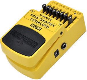 Pedal Behringer EQ700 Graphic Equalizer/ Equalizador Gráfico  - TranSom Áudio e Música