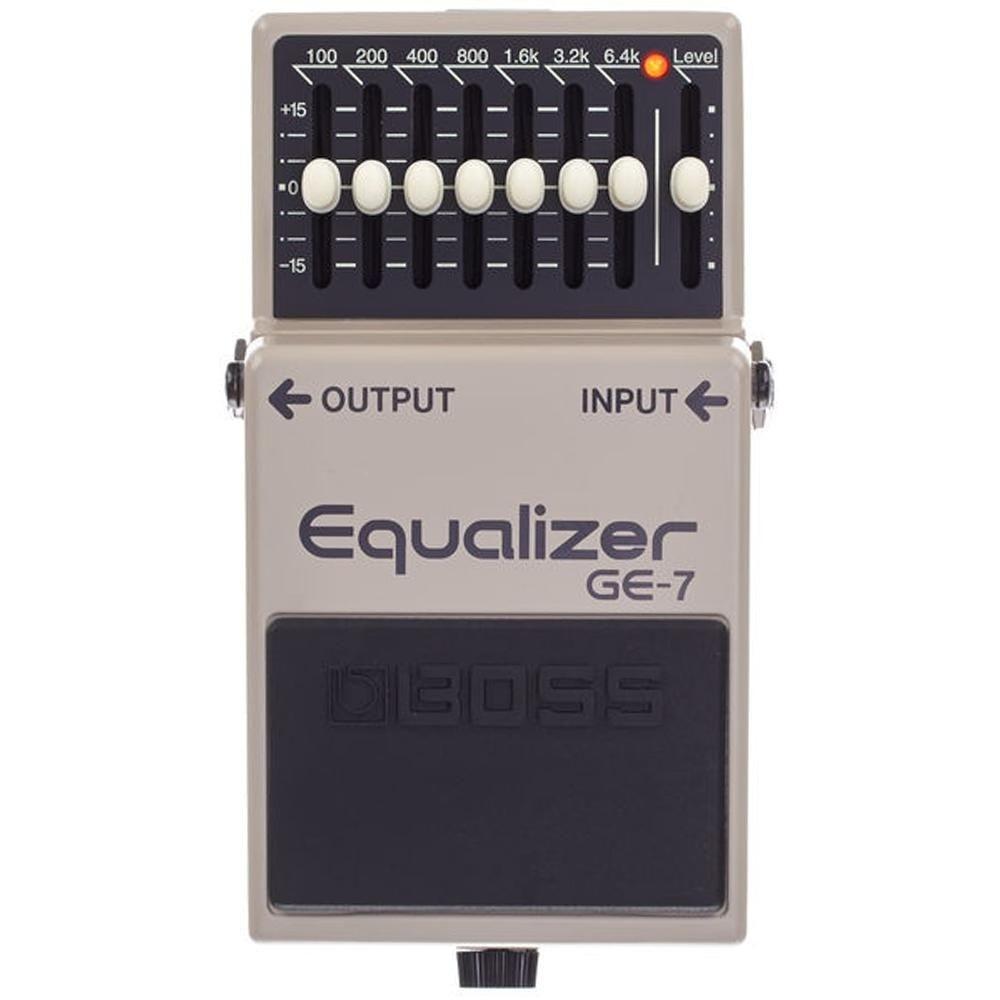 Pedal Boss Equalizer GE-7 (Produto Original Roland)  - TranSom Áudio e Música