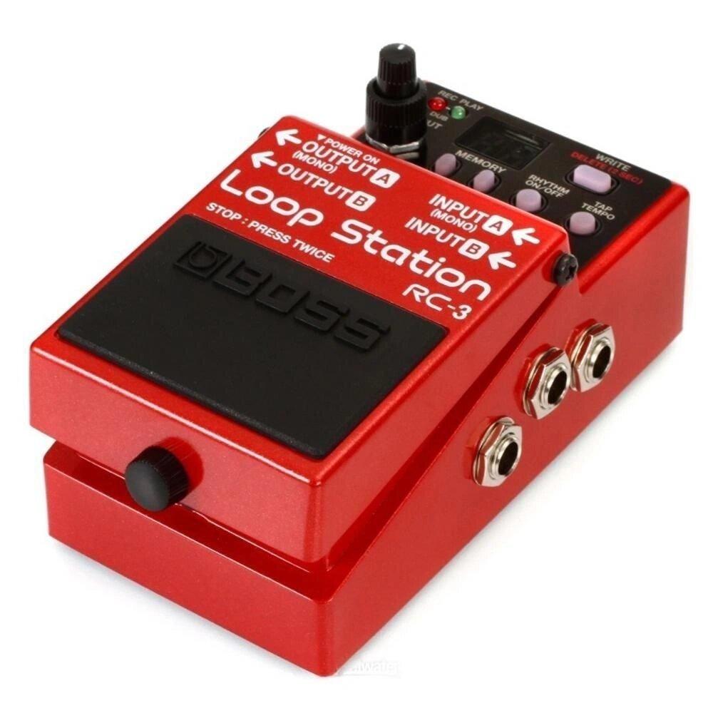 Pedal Boss RC-3 Loop Station - Compacto e com Porta USB (Semi-Novo Impecável)  - TranSom Áudio e Música