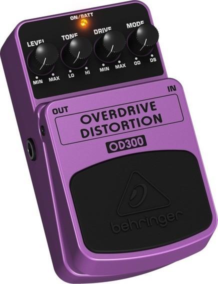 Pedal para Baixo Behringer BOD100  Bass Overdrive  - TranSom Áudio e Música