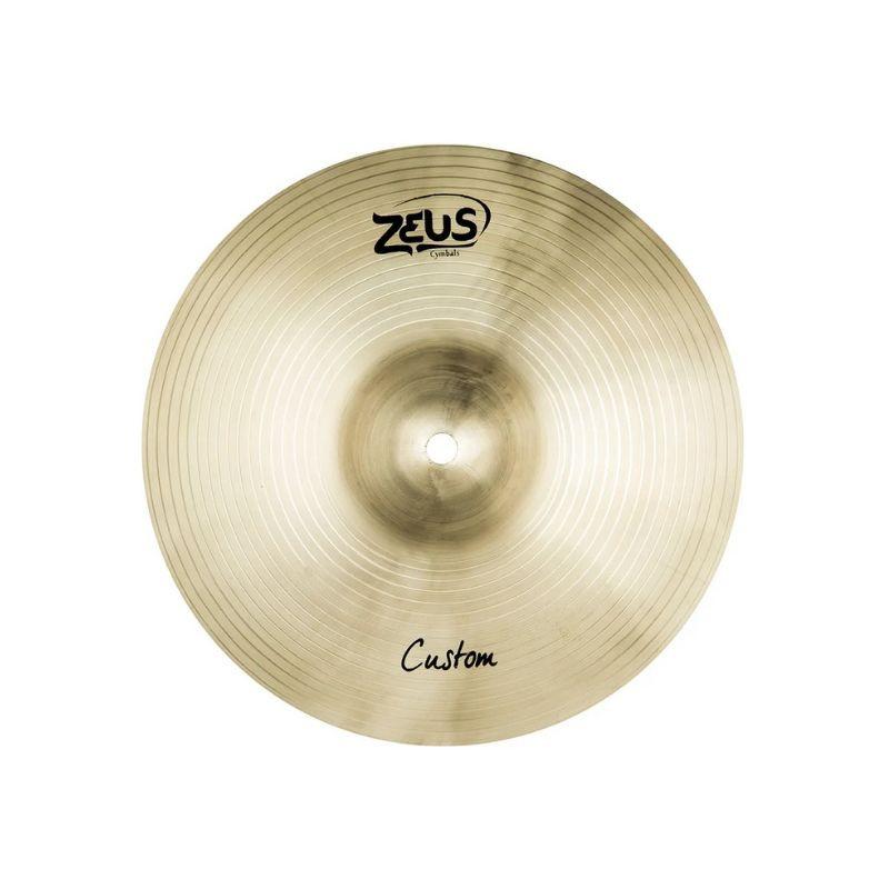 "Prato Zeus 12"" Custom ZCS12 Splash  - TranSom Áudio e Música"