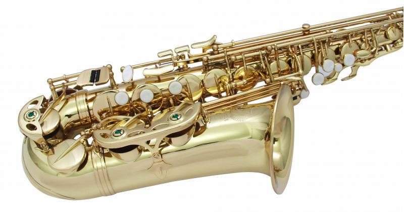 Saxofone Alto Eagle SA-501 Laqueado em Mib (Com Case)  - TranSom Áudio e Música