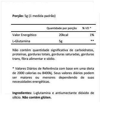 f28556300 ... Glutamina 300g - New Millen - P2 Suplementos Nutricionais