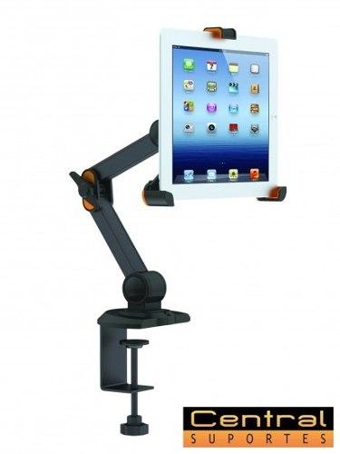 Suporte Articulado de Mesa para Tablet / iPad 8 a 10.1 TBL-3 ELG  - Central Suportes