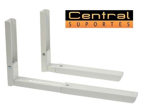 Suporte para Microondas Universal MW03 ELG Branco  - Central Suportes