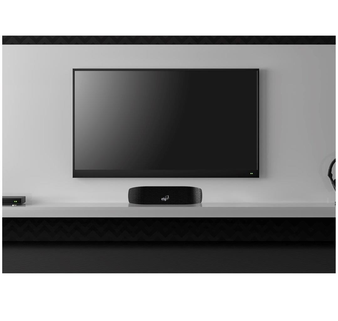 Antena Digital Interna Cabo 2,5m Link HDTV4500BK ELG  - Central Suportes