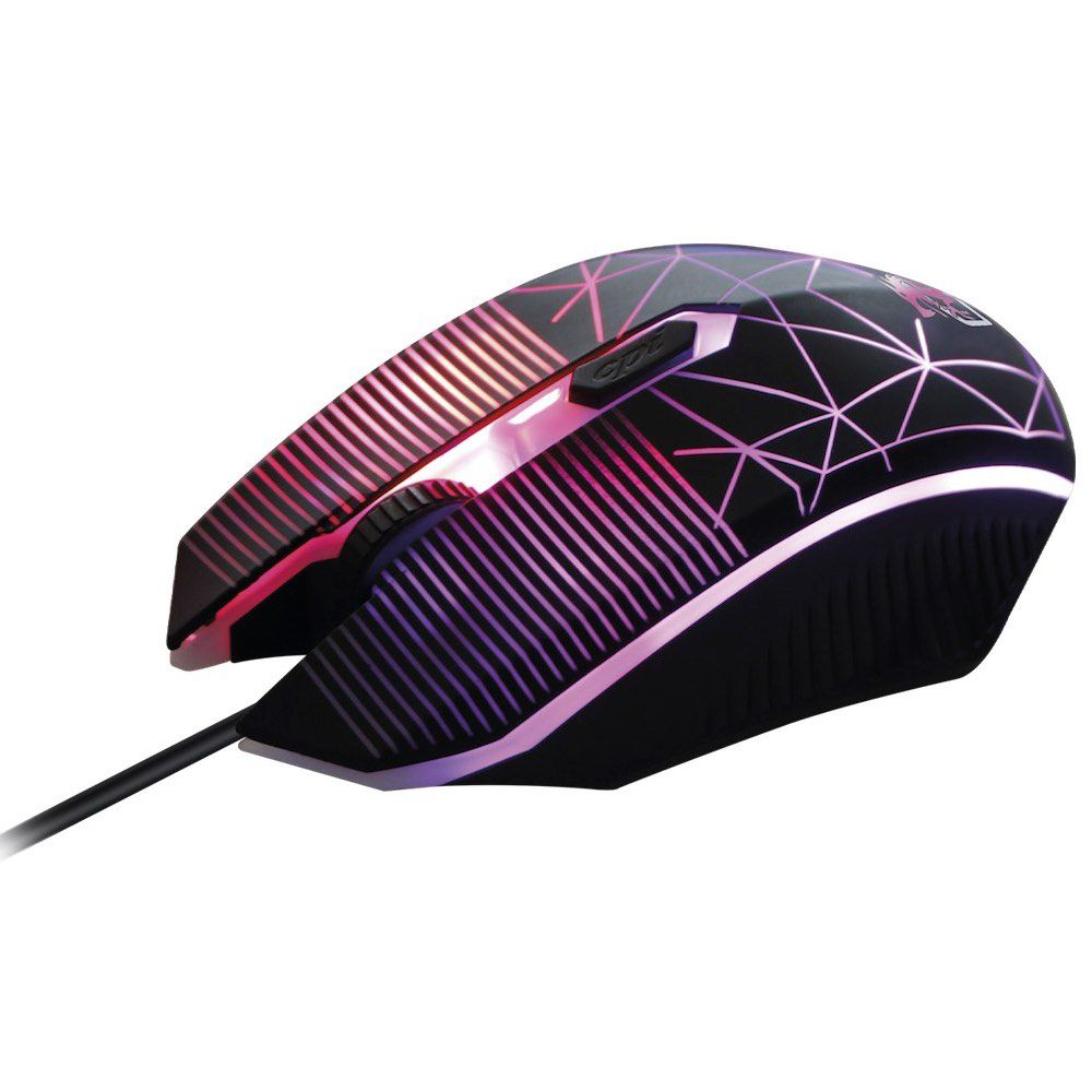 Combo Gamer Striker 4 em 1 : Headset+Mouse+Teclado+Mouse Pad CGSR41 ELG  - Central Suportes