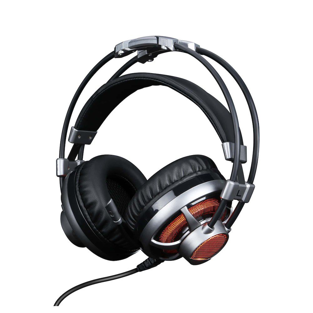 Headset Gamer 7.1 Surround Channel com Microfone HGSS71 ELG  - Central Suportes