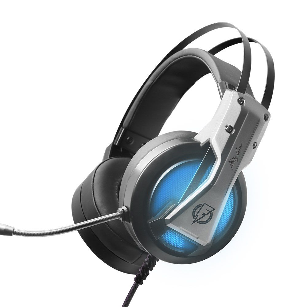Headset Gamer Flakes Power Storm 7.1 com Microfone FLKH001 ELG  - Central Suportes