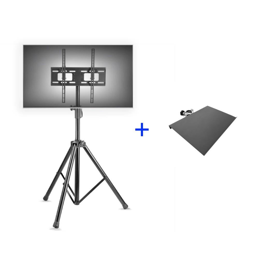Kit Tripé para TV 32 a 55 A06V4TP + Bandeja Notebook NBT400   - Central Suportes