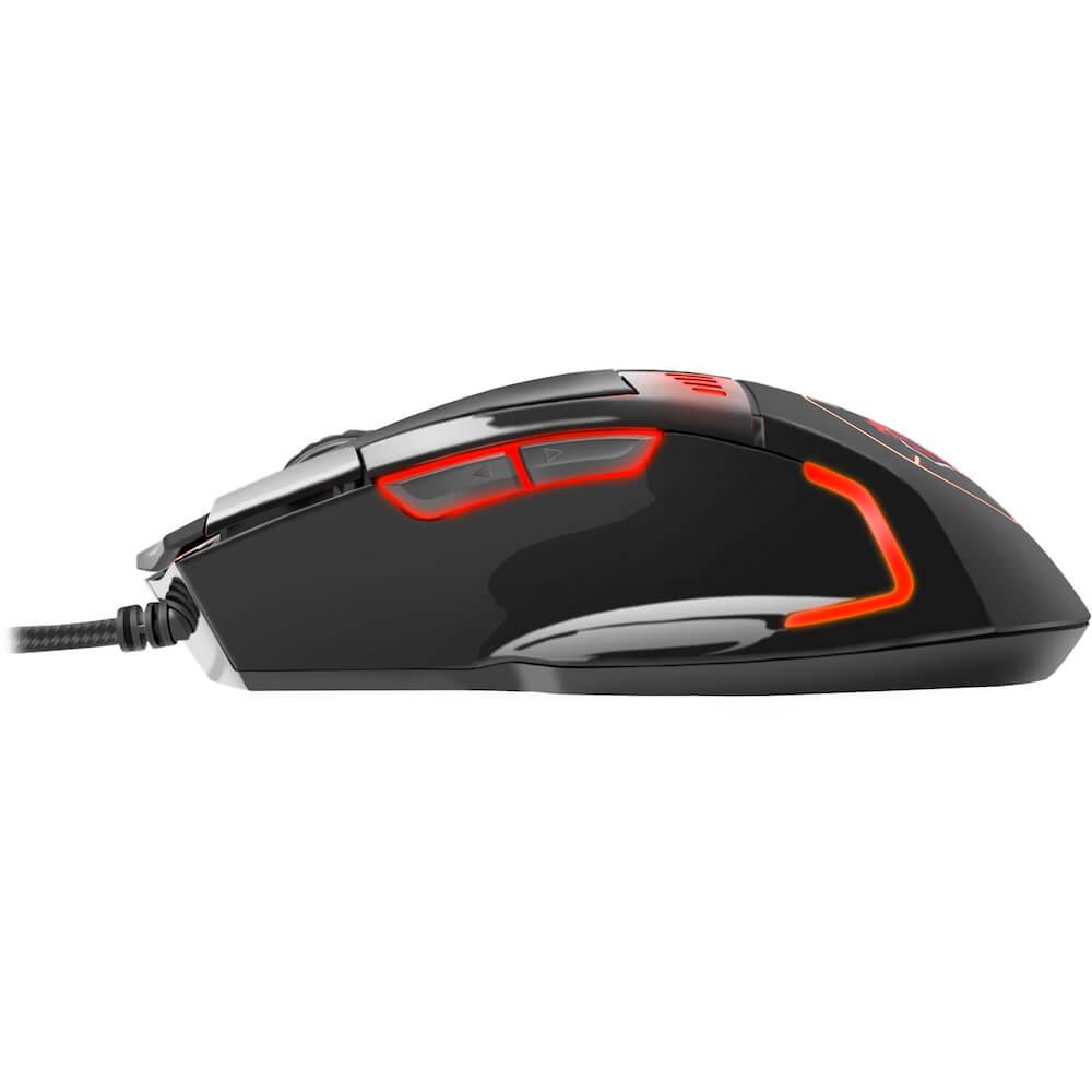 Mouse Gamer Sniper PRO RGB 8 Botões 5200 DPI MGSP ELG  - Central Suportes