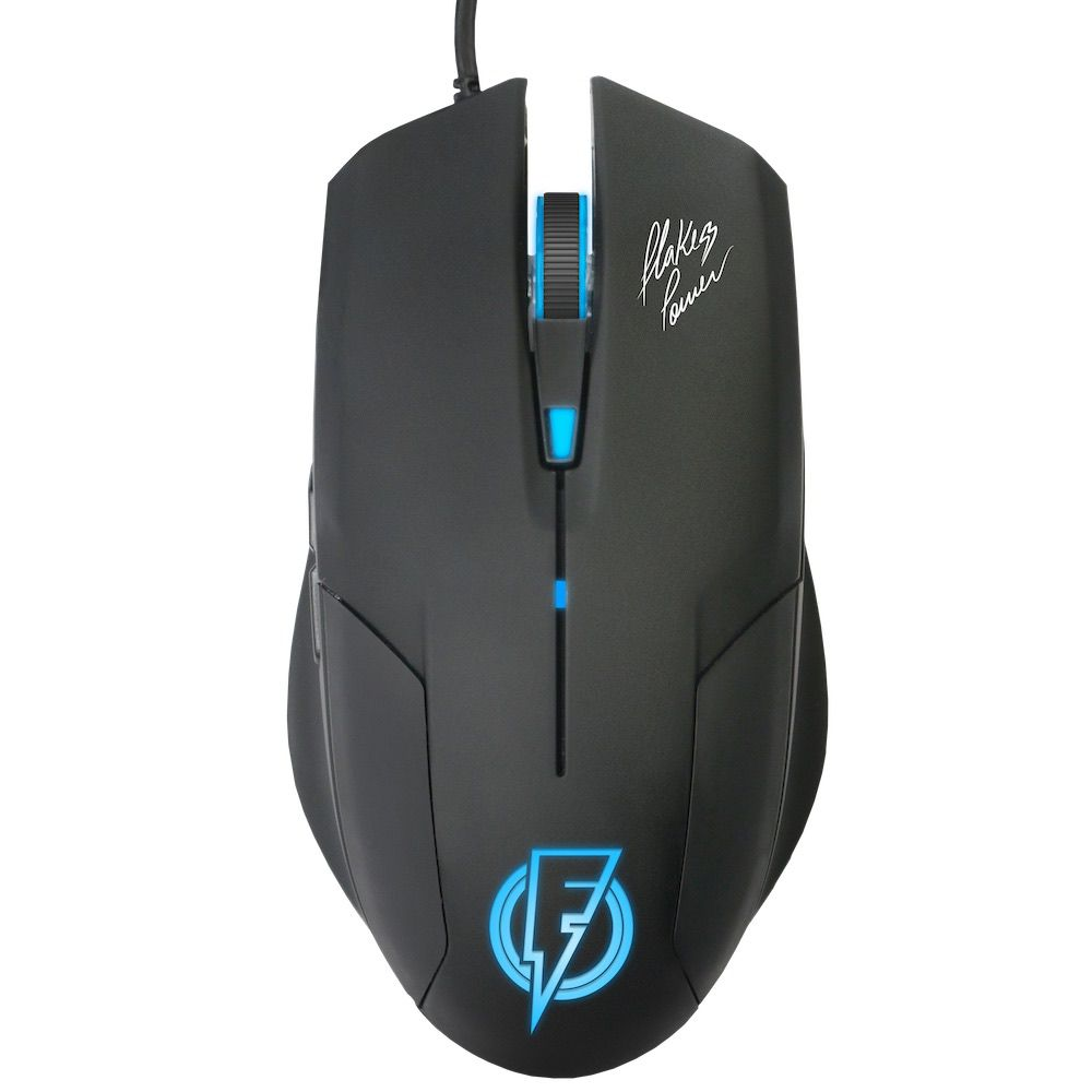 Mouse Gamer Stream Flakes Power 6 Botões 2400 DPI FLKM002 ELG  - Central Suportes