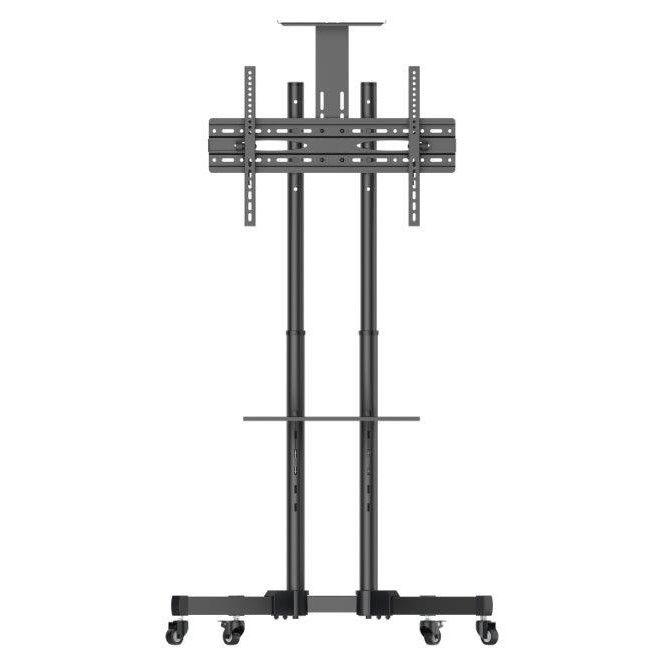 Pedestal para TV 32 a 75 Suporte c/ rodízios A06V6_S ELG  - Central Suportes