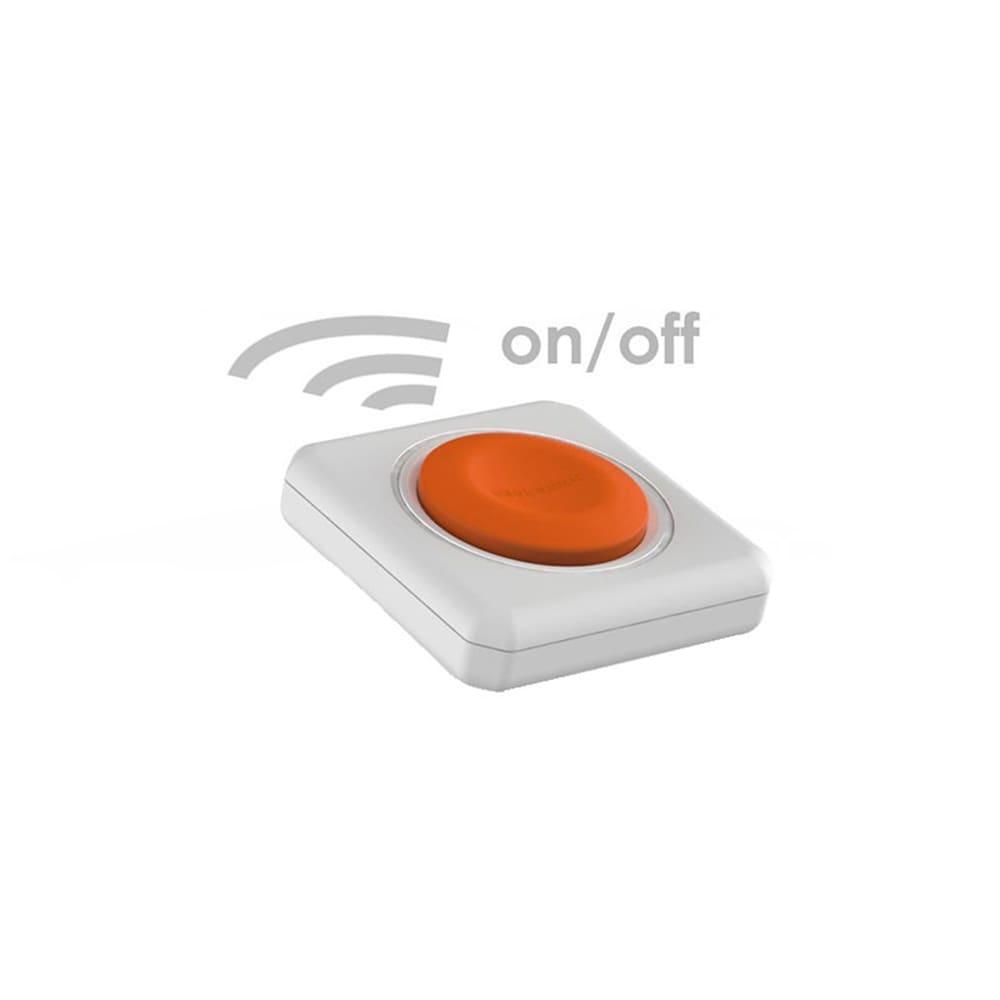 PowerCube Remote Extended PWC-XM4CR com Controle Remoto e 4 Tomadas  - Central Suportes