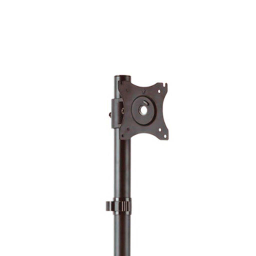 Suporte 2 Monitores Vertical com Morsa V1224C ELG  - Central Suportes