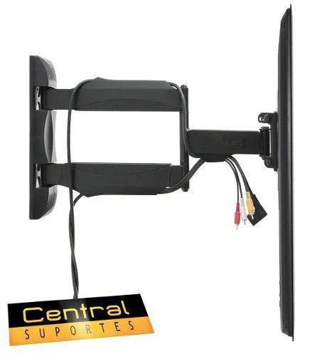 Suporte Articulado para TV de 26 a 55 Vesa 800x200 SPH800  - Central Suportes