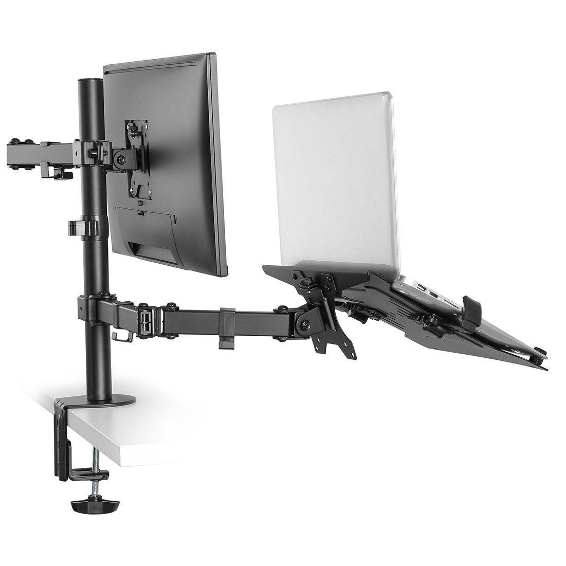 Suporte de Mesa Duplo para Monitor e Notebook TM22NB  - Central Suportes