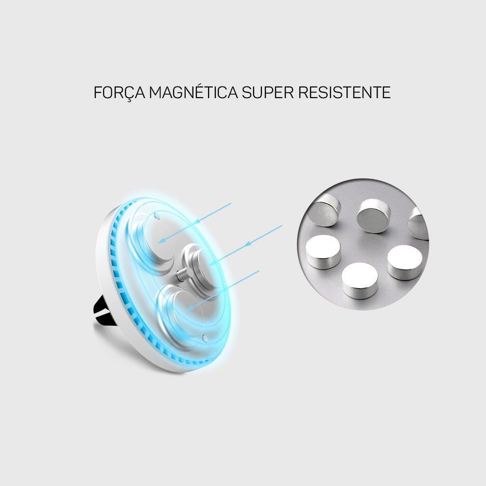 Suporte para Celular Veicular Magnético ECCH2 ELG  - Central Suportes