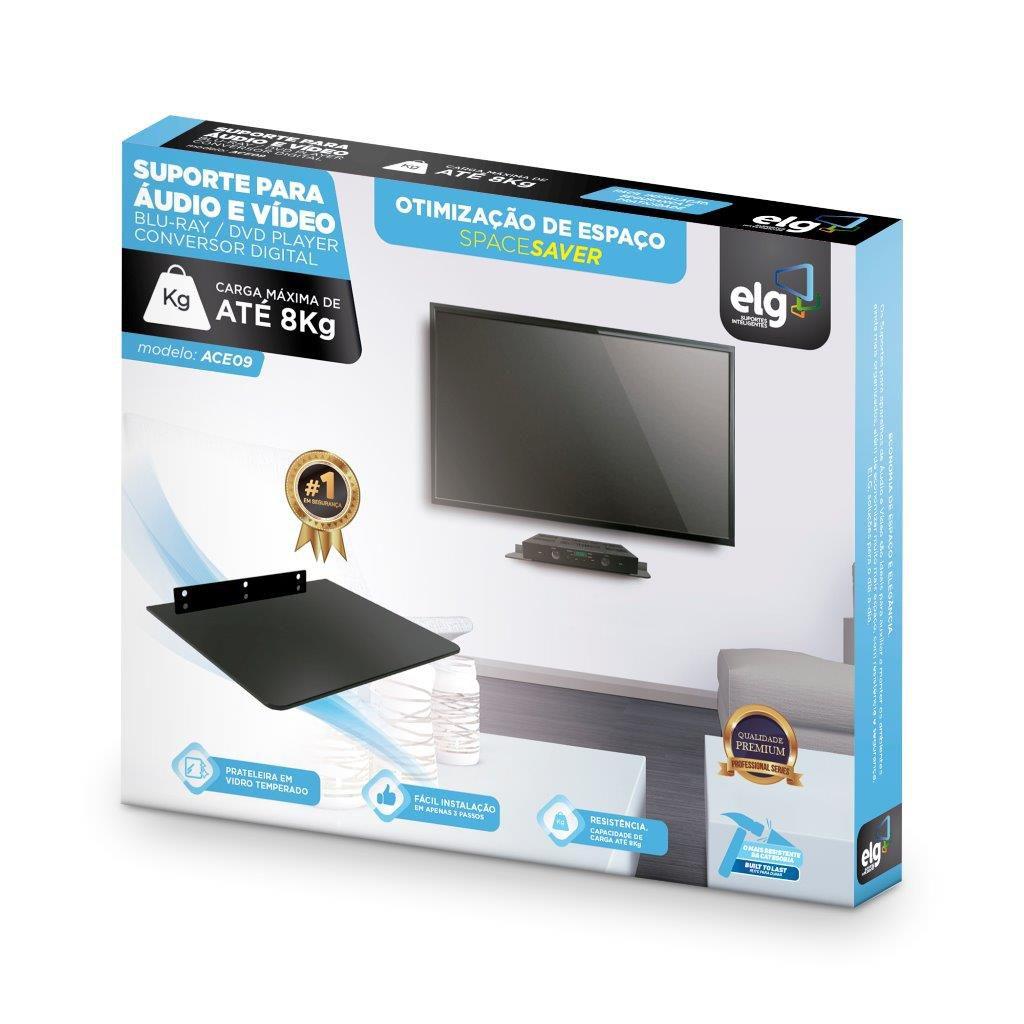 Suporte para DVD SKY NET Decodificador ACE09 ELG  - Central Suportes